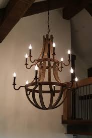 wine barrel chandelier with antique farmhouse wine barrel chandelier