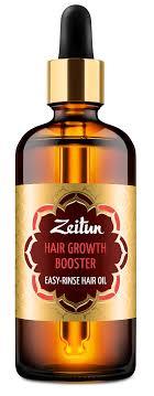ZEITUN <b>Масло легкосмываемое Активатор</b> роста волос 100 мл ...