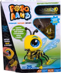 Игрушка <b>1 Toy</b> РобоЛайф Пчелка (<b>модель для сборки</b>) 3*АG13 ...