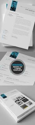 The Modern Resume Cv Templates Are Made In Adobe Photoshop And