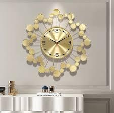 starry sky design large wall clock