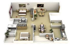 marvelous 50 3d floor plans lay out designs for 2 bedroom house 2 bedroom apartment floor