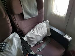 review why qantas premium economy is worth twice the of seats behind you
