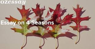 sample essay on seasons