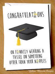 Greeting Card Graduation Congratulations University Degree Funny