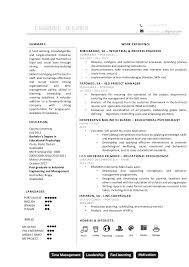 Industrial Engineer Resume Industrial Engineer Cv Examples The Cv Database