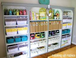 Ultimate Crafts Room Organization  Shelterness This Would Be Organize Craft Room