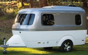Small Picture Airstreams Nest Caravans Trailers Are Small and Towable InsideHook