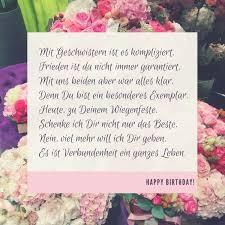 Geburtstagswünsche Fuer Die Schwester Sprüche Zum Quotes Of The Day