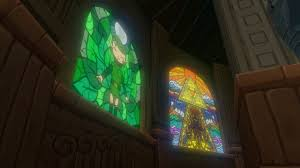 twwhd glasscuaw images on zelda stained glass wall decal