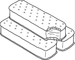 ice cream sandwich coloring pages. With Ice Cream Sandwich Coloring Pages