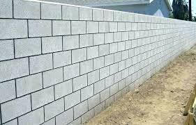cinder block retaining wall concrete block building designs concrete block walls design concrete block retaining walls