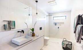 Image of: New Pendant Light In Bathroom