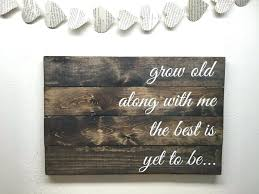 Wooden Signs With Quotes Interesting Inspirational Wood Wall Art Wall Art Sayings On Wood Best Wall Decor