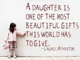 to my two daughters