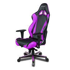 gaming chair purple chair black dxracer pc racing series oh rv001 nv gamers seat simple