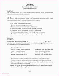Sample Resume For Zonal Sales Manager Valid Hvac Project Engineer
