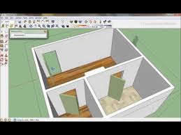 ... Sketchup How To Draw A 20 X 20 Bedroom 1 Of 2 ...