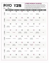 focus t25 calendar printable focus t25 review shocking results and printable workout
