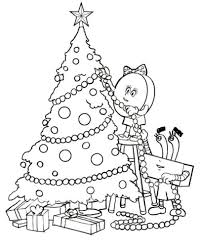 Small Picture Christmas Coloring Pages Decorations Coloring Pages