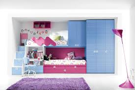 collection luxury and romantic bunk bedroom compact blue pink