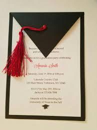 Graduation Invitations Set Of 10 Goma Eva Pato Pinterest
