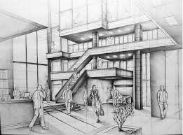 interior design drawings. Interior Design Pencil Drawing Stack A Blog About Art And Architecture Wood Drawings E