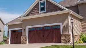 Accents Woodtones Flush Overlay Garage Doors - YouTube