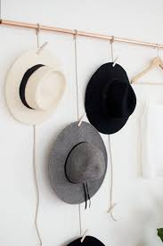 Best Hat Rack Ideas For Your Lovely Room | Tags: hat hanger ideas, hat