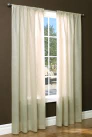 54 inch long white sheer curtains insulated thermal semi window 54 long curtains