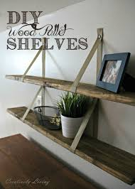 Shelves Made From Pallets Wondrous Wood Pallet Shelves 32 Wood Pallet Racks De La Palette A