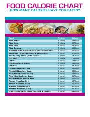 Food Calorie Chart Pdf Idpl Food Calorie Chart 1 Pdf Food Calorie Chart How Many