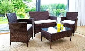 patio outdoor patio furniture sets why you should choose all climate rattan garden