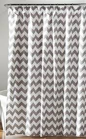 grey chevron shower curtains. Unique Grey Lush Decor Chevron Shower Curtain 72 X GrayWhite  To View Further For  This Intended Grey Curtains L