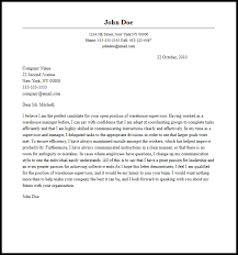 Warehouse Supervisor Resume Unique Brilliant Ideas Of Amazing Warehouse Supervisor Cover Letter Example