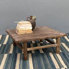 antique rustic coffee table saoirse