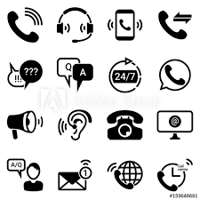 Technical Support Questions Set Of Simple Icons On A Theme Technical Support Service Questions