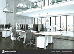 Modern Corporate Office Interior Design Modern Minimalistic Office Interior Design 3d Rendering