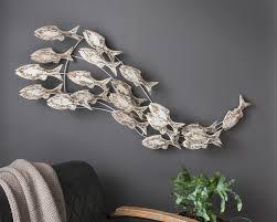 Die Faktorei Deko Wandobjekt Fische 2