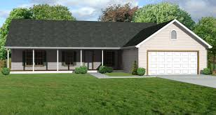 ADU Small House Plan 2 Bedroom 2 Bathroom 1 Car GarageSmall Home Plans With Garage