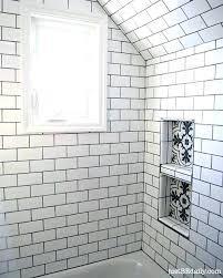 best tile for shower shower niche tiling subway tile niche the best tile shower niche ideas
