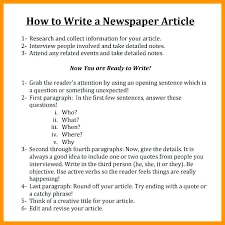 Newspaper Article Word Template Newspaper Report Template Unique Article News Ks2 Tes