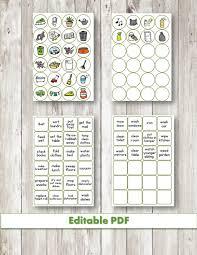 Daily Editable Practical Life Chore Chart