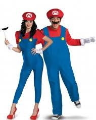 Super Mario™ Couples Costumes For Adults