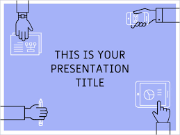 Ppt Template For Academic Presentation Free Powerpoint Template Or Google Slides Theme With Teamwork