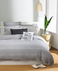 bar iii textured stripe gray twin duvet cover inside plans 8