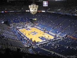 Rupp Arena Section 225 Kentucky Basketball Rateyourseats Com