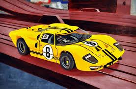 saatchi art artist jonathan jackson painting 1966 ford gt40 slot car