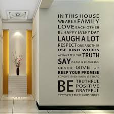 home decor family quote wall sticker removable large vinyl wall decals on large vinyl wall decal quotes with home decor family quote wall sticker removable large vinyl wall