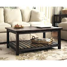 awesome coffee table with distressed white and pier one end tables pottery barn glass round elegant for any room